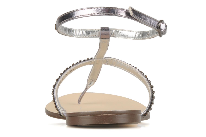 Sandalen Chocolate Schubar Diamond grau ansicht von rechts