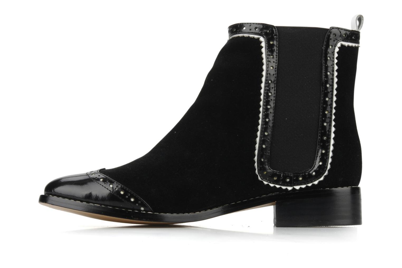 Boots en enkellaarsjes C.Petula Thelma Zwart voorkant