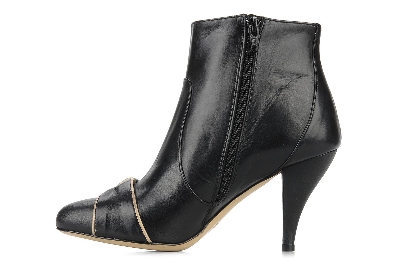 Bottines et boots C.Petula Olga Noir vue face