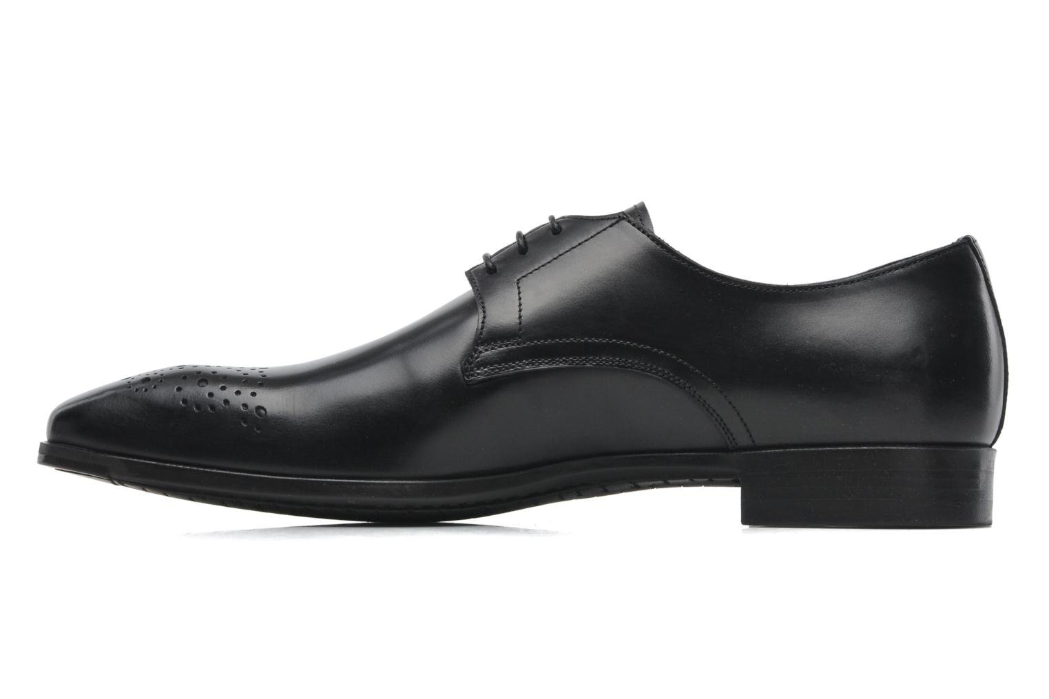 Lace-up shoes Santoni Marlone 11020 Black front view
