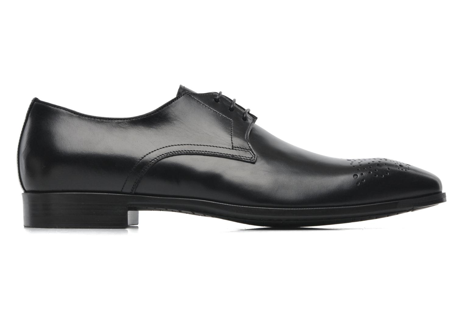 Lace-up shoes Santoni Marlone 11020 Black back view
