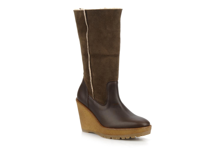 Bottines et boots Pare Gabia Nelice Marron vue 3/4
