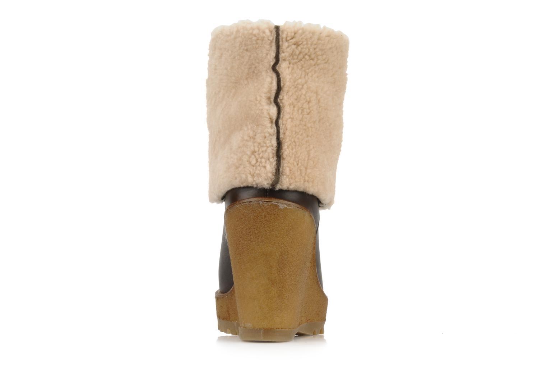 Bottines et boots Pare Gabia Nelice Marron vue droite