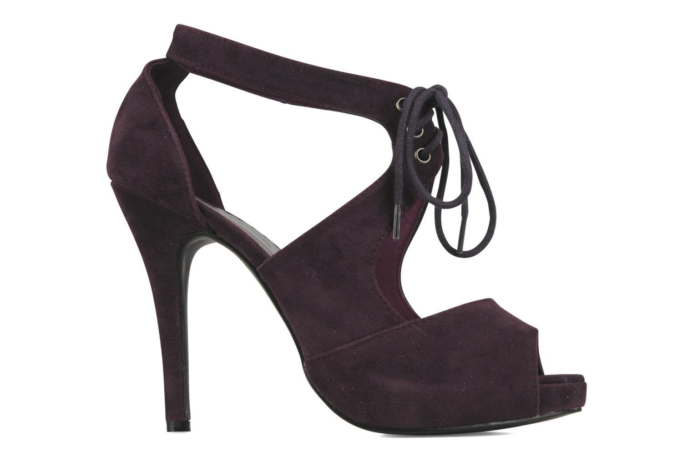Helana Purple synthetic suede