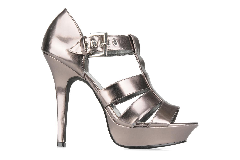 Sandales et nu-pieds Spot On Clochette Or et bronze vue derrière