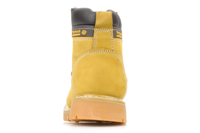 Stiefeletten & Boots Dockers Looka gelb ansicht von rechts