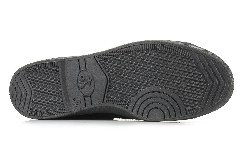 Sneakers Le temps des cerises Basic 03 doune Zwart boven