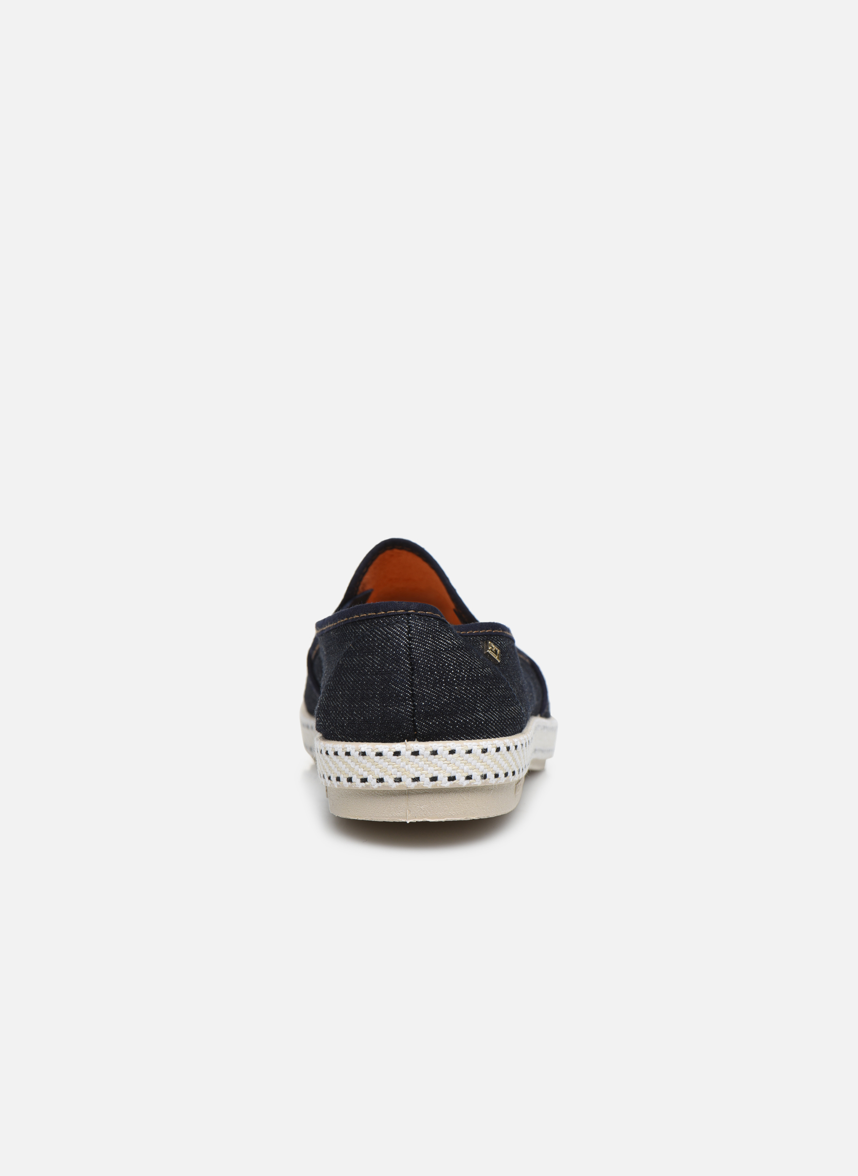 Espadrilles Rivieras Jean m Blue view from the right