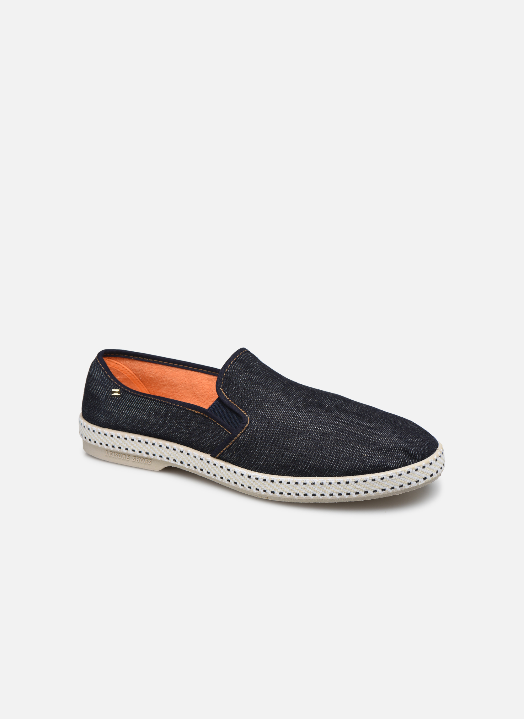 Espadrilles Rivieras Jean m Blue detailed view/ Pair view