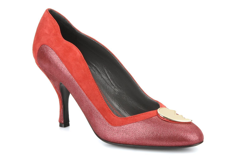 Escarpins Amelie Pichard Isabella r Rouge vue détail/paire