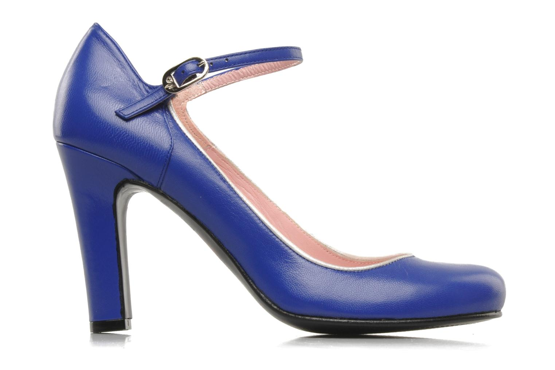 High heels Annabel Winship Ice tea Blue back view