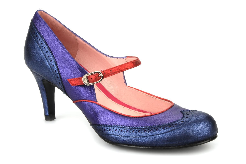 Isabella Blue velvet