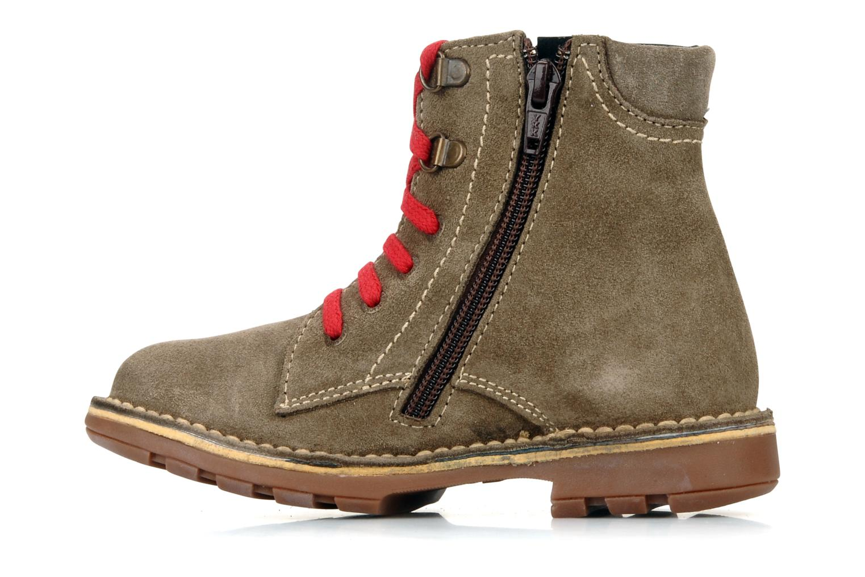 Boots en enkellaarsjes Kickers Kiosk Bruin voorkant