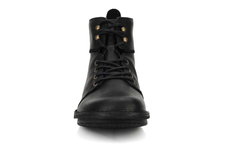 Bottines et boots Kickers Picture Noir vue portées chaussures
