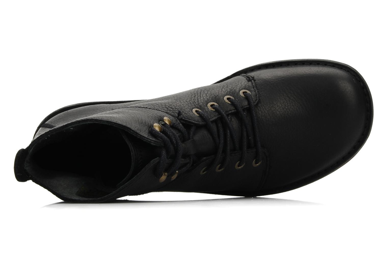 Bottines et boots Kickers Picture Noir vue gauche