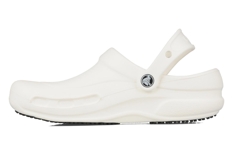 Clogs & Pantoletten Crocs Bistro w weiß ansicht von vorne