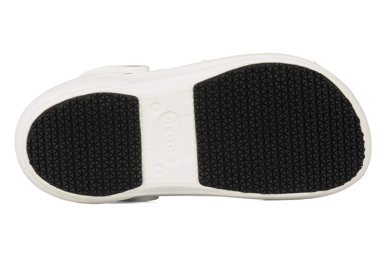 Clogs & Pantoletten Crocs Bistro w weiß ansicht von oben