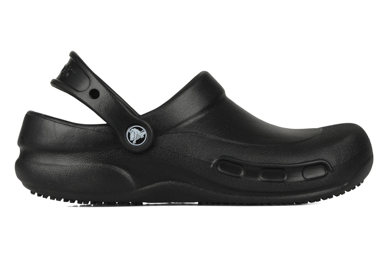 Wedges Crocs Bistro w Zwart achterkant