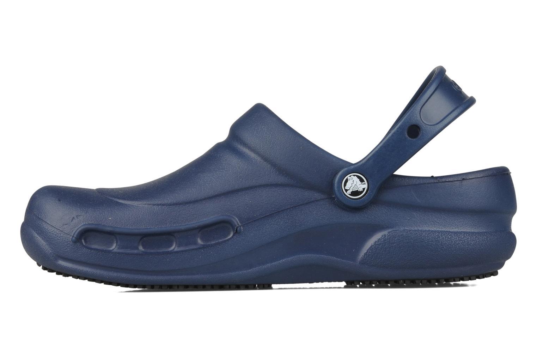 Sandales et nu-pieds Crocs Bistro m Bleu vue face