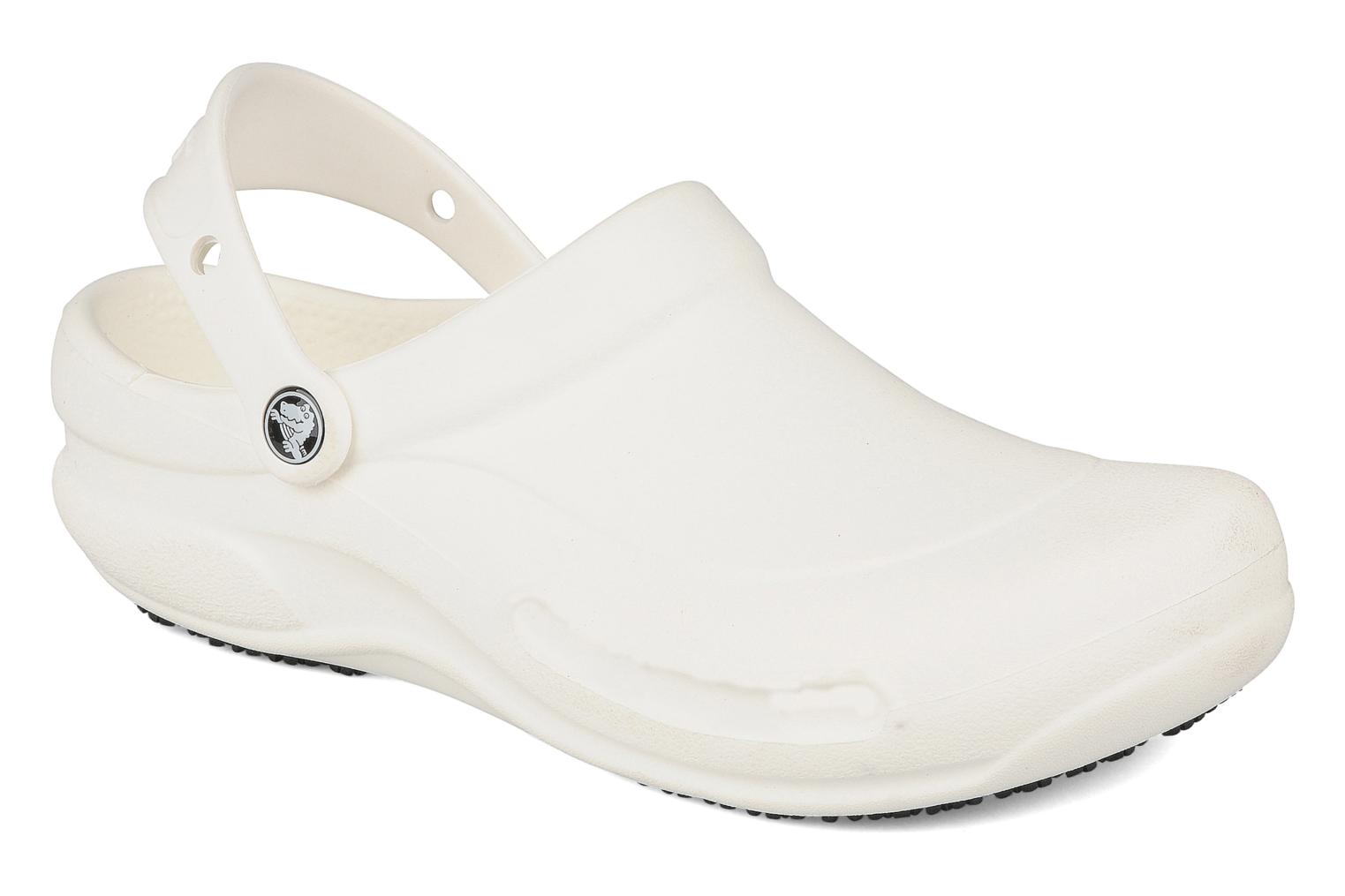 Sandals Crocs Bistro m White detailed view/ Pair view