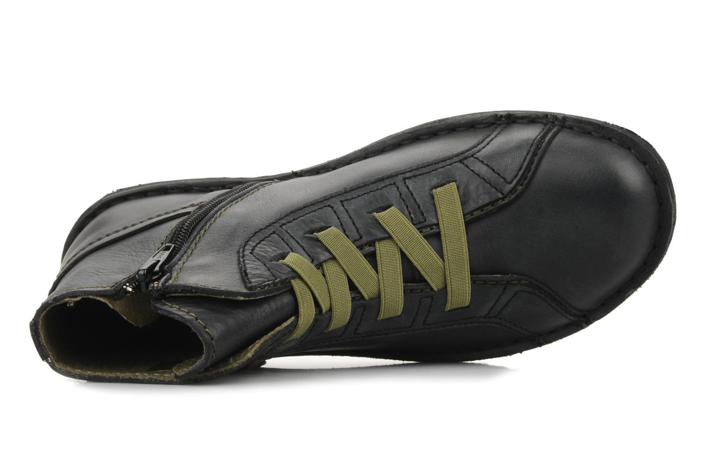 Boots en enkellaarsjes Kickers Watcha Zwart links