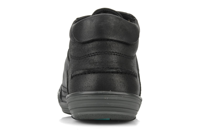Baskets Kickers Jefi-grt Noir vue droite