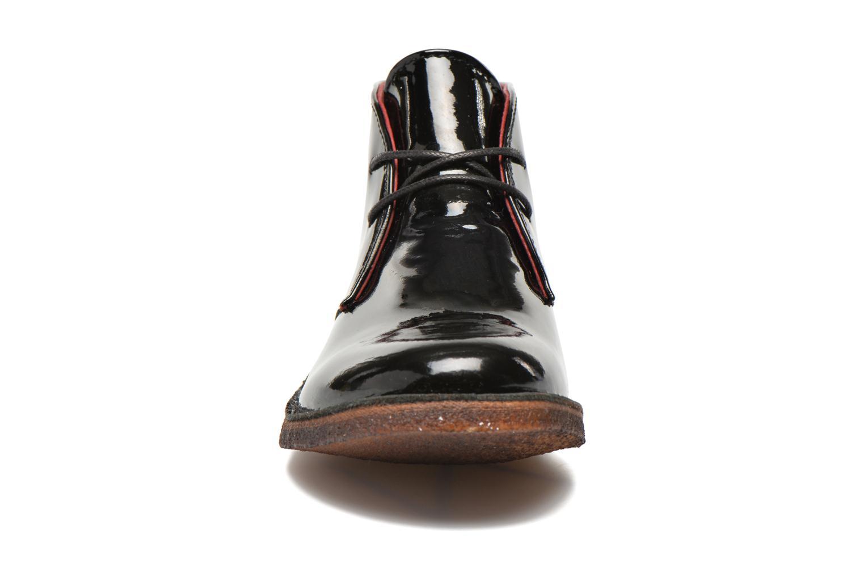 Chaussures à lacets Kickers Crepy Noir vue portées chaussures
