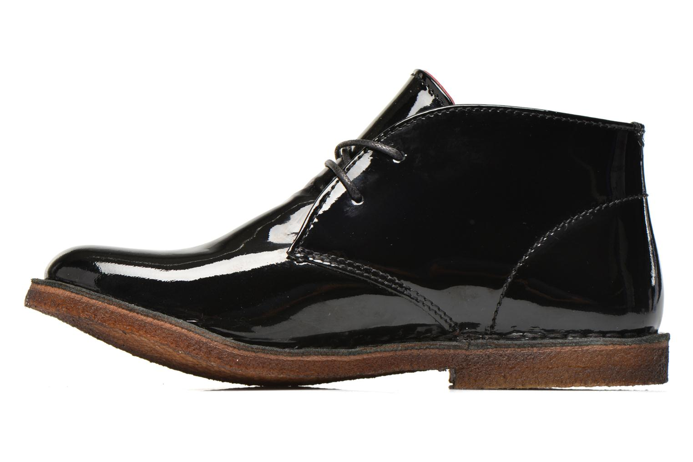 Chaussures à lacets Kickers Crepy Noir vue face