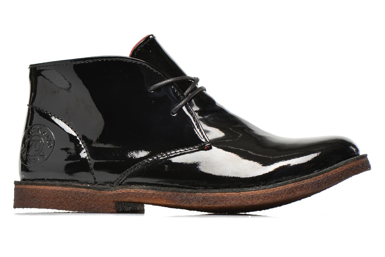 Chaussures à lacets Kickers Crepy Noir vue derrière