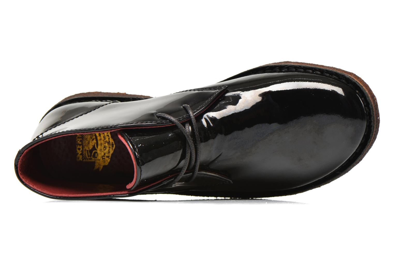Chaussures à lacets Kickers Crepy Noir vue gauche