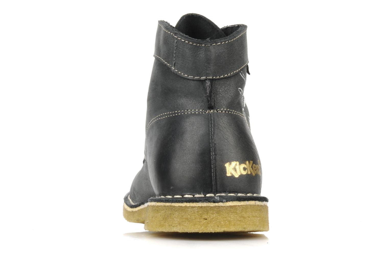 Bottines et boots Kickers Legend mickey Gris vue droite