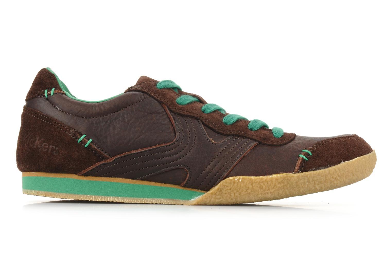 Sneaker Kickers Optimum braun ansicht von hinten