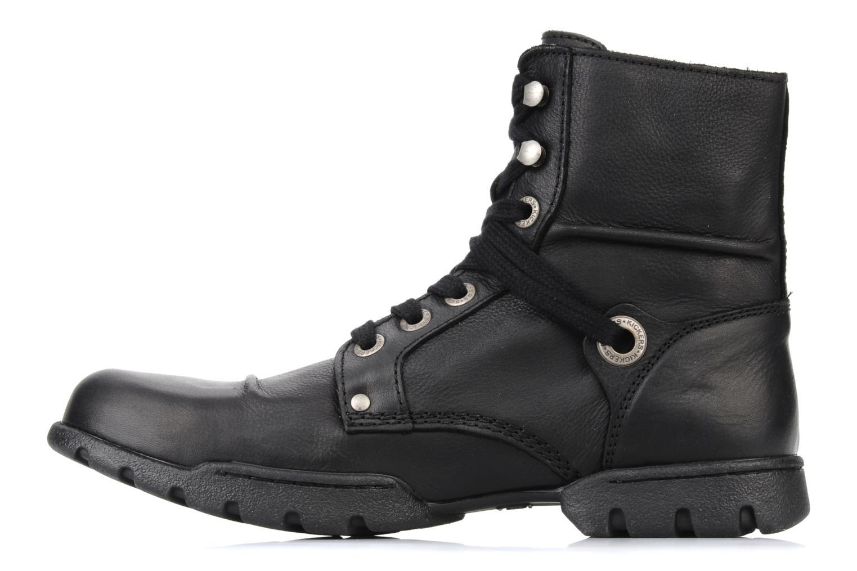 Bottines et boots Kickers Docklands Noir vue face