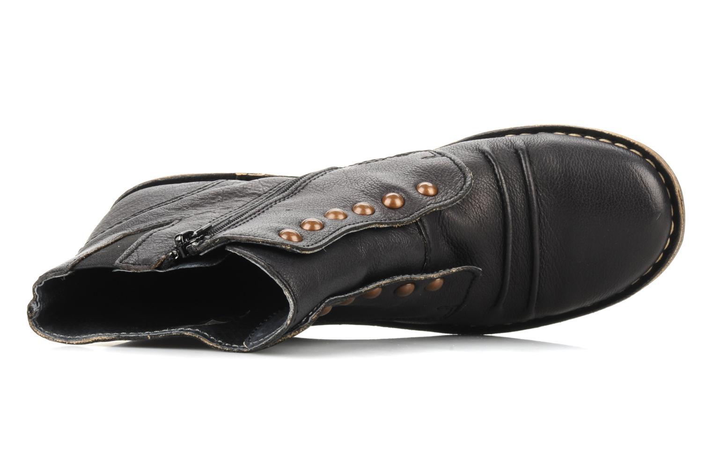 Bottines et boots Kickers Georges Noir vue gauche