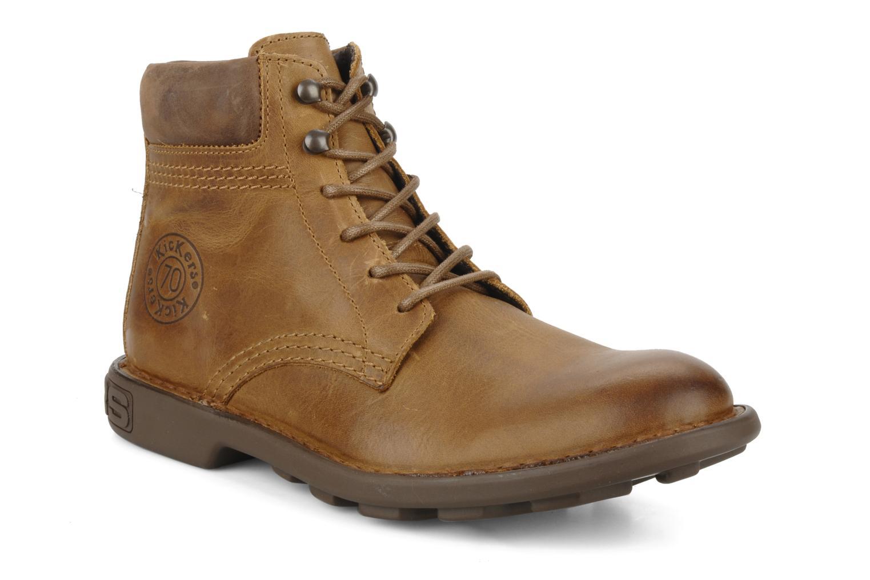 Bottines et boots Kickers Koloc Marron vue détail/paire