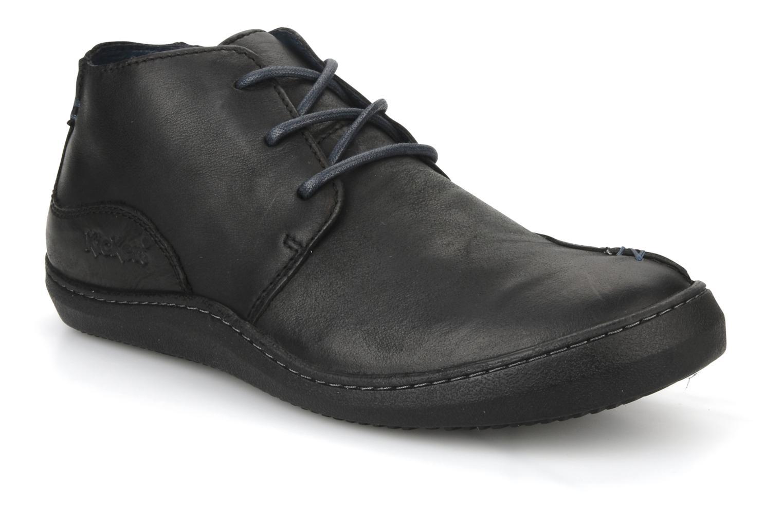 Chaussures à lacets Kickers Bingo Noir vue détail/paire