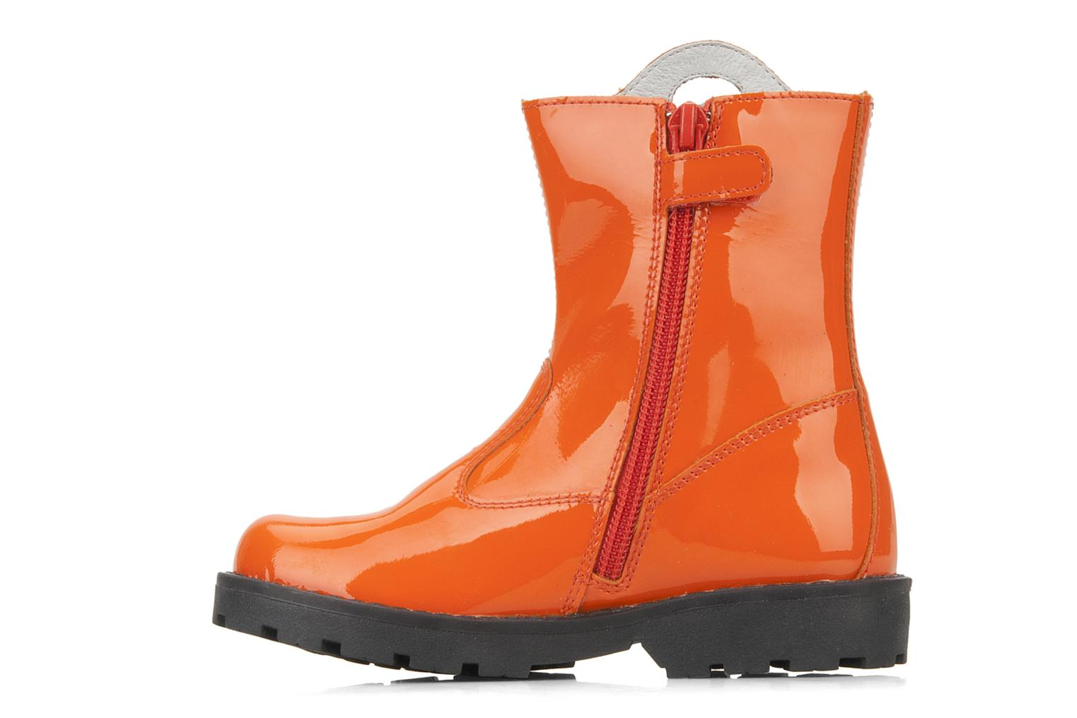 Ankle boots Disney by Naturino Disney 758 Orange front view
