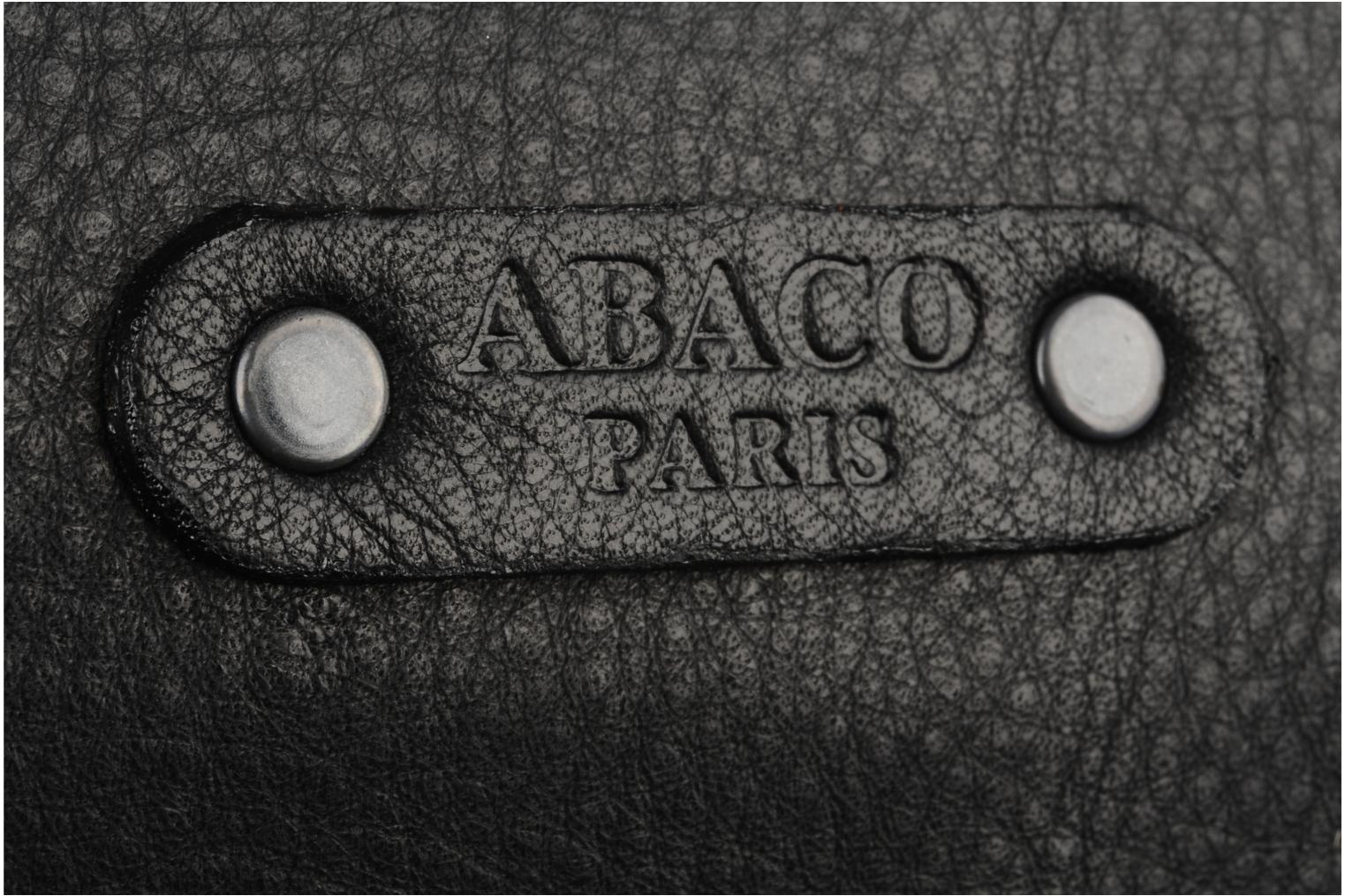 Wallets & cases Abaco Nina rock Black view from the left