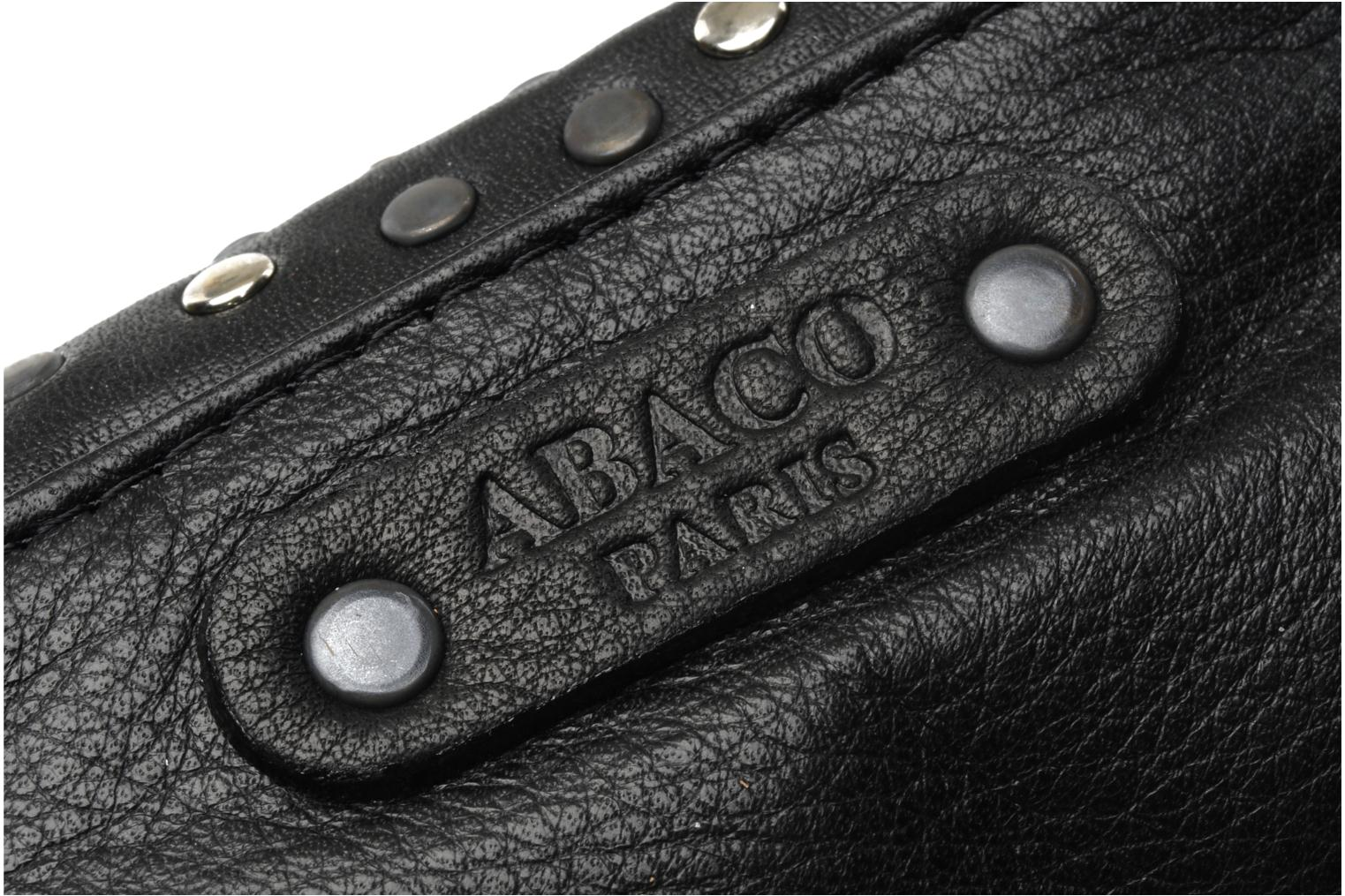Wallets & cases Abaco Friend rock Black view from the left