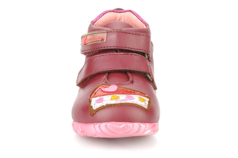 Chaussures à scratch Agatha Ruiz de la Prada Arone Rose vue portées chaussures