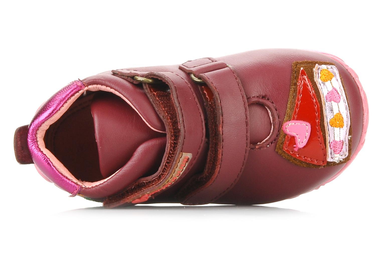 Chaussures à scratch Agatha Ruiz de la Prada Arone Rose vue gauche