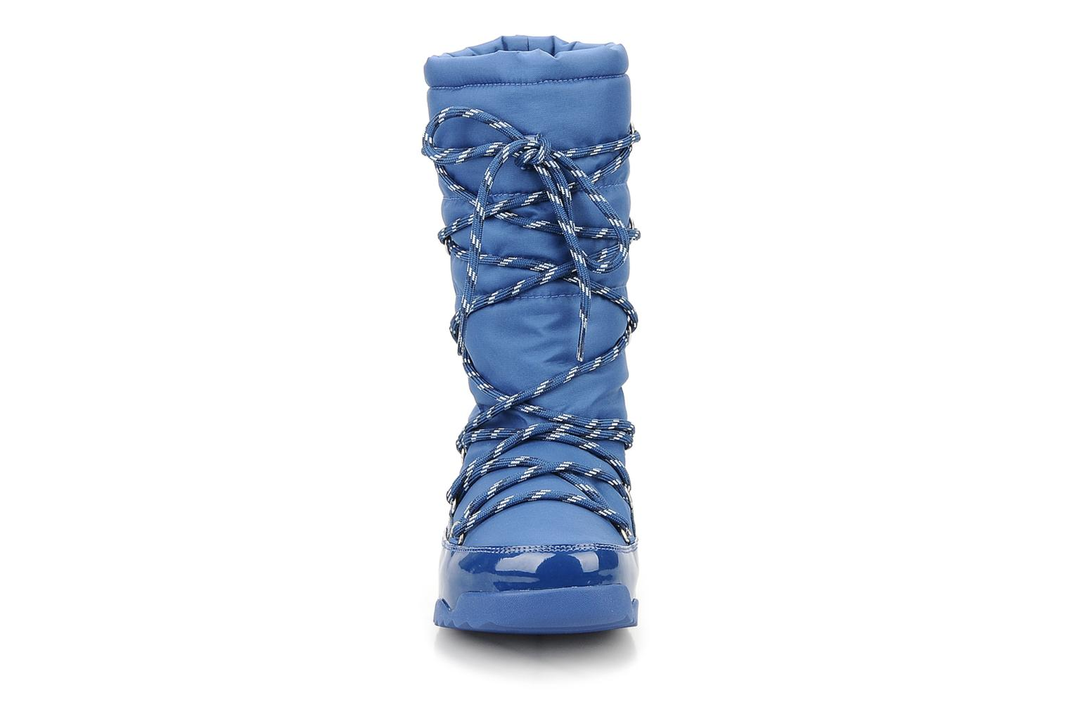 Ankle boots FitFlop Blizzboot Blue model view