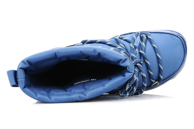 Bottines et boots FitFlop Blizzboot Bleu vue gauche
