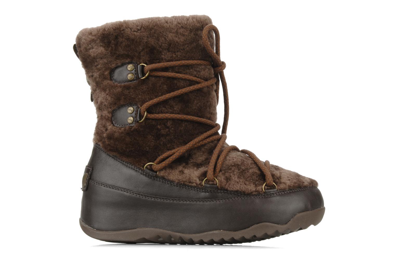 Bottines et boots FitFlop Super blizz Marron vue derrière