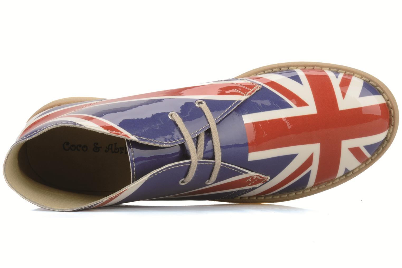Bottines et boots Coco et abricot Dingl Multicolore vue gauche