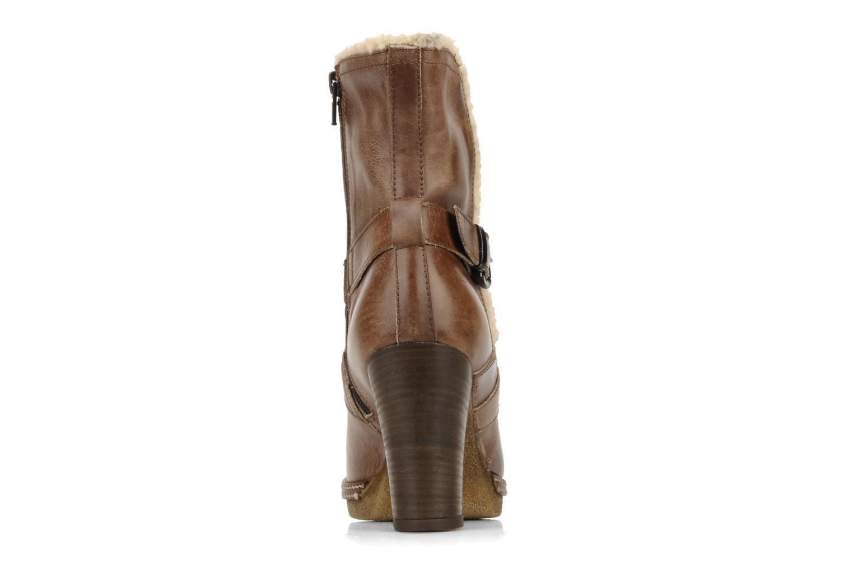 Bottines et boots Coco et abricot Pyxide Marron vue droite