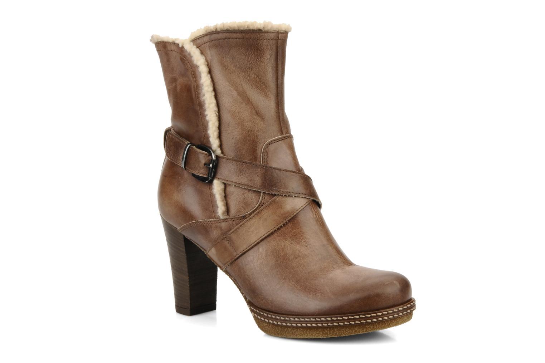 Bottines et boots Coco et abricot Pyxide Marron vue détail/paire