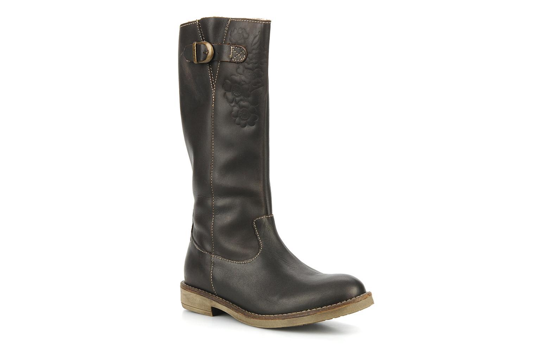 Boots & wellies Noël Folk Brown detailed view/ Pair view