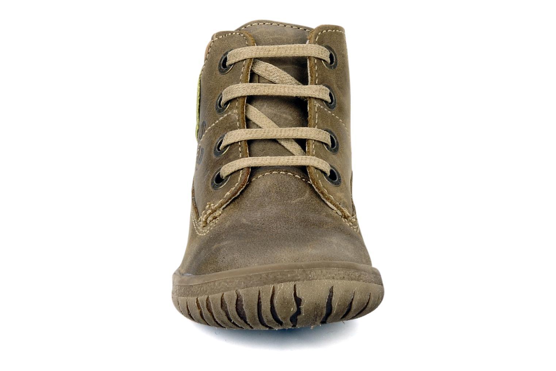 Bottines et boots Noël Mini factor Marron vue portées chaussures