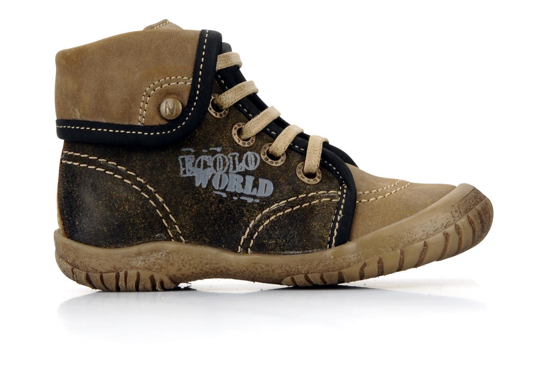 Bottines et boots Noël Mini fizz Marron vue derrière